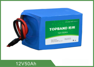 Deep Cycle Lithium Battery Rechargeable 12V 50Ah For Back Up Power